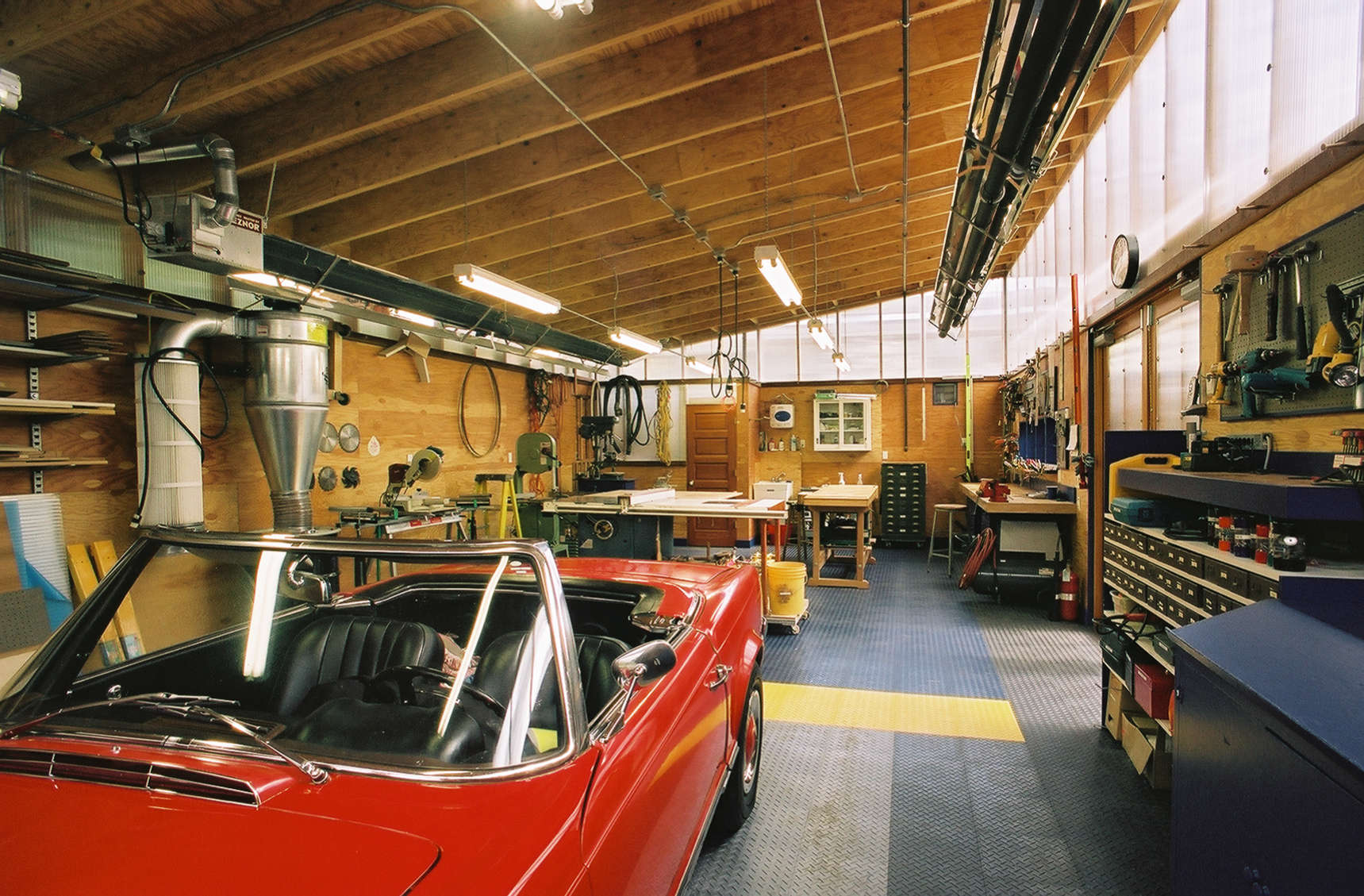 Design Ideas Architect Visit Harrison Architects Green Garage Gardenista