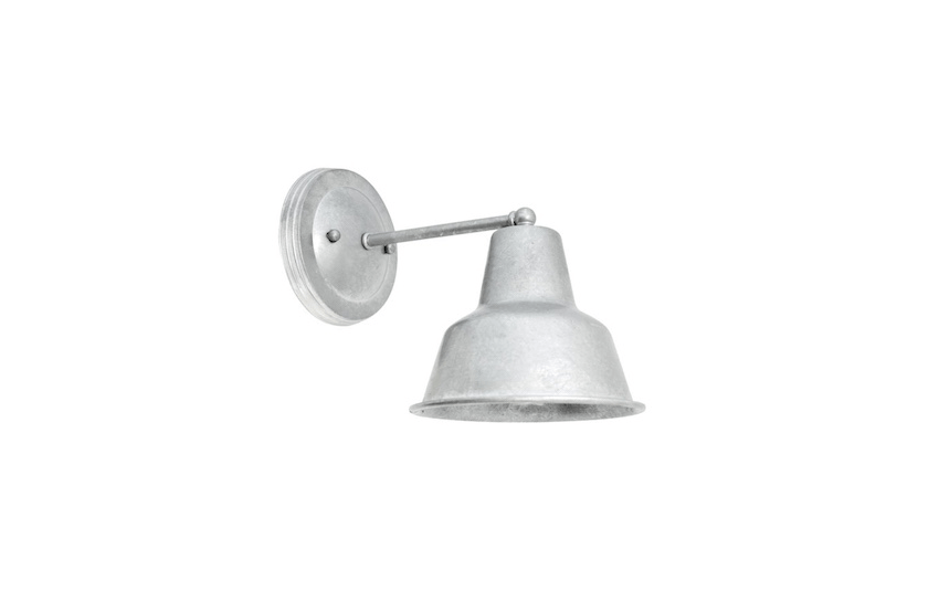 A Barn Light Mini Artesia Wall Sconce can be customized with a choice of gooseneck or  sc 1 st  Gardenista & 10 Easy Pieces: Barnhouse-Style Outdoor Lighting - Gardenista azcodes.com