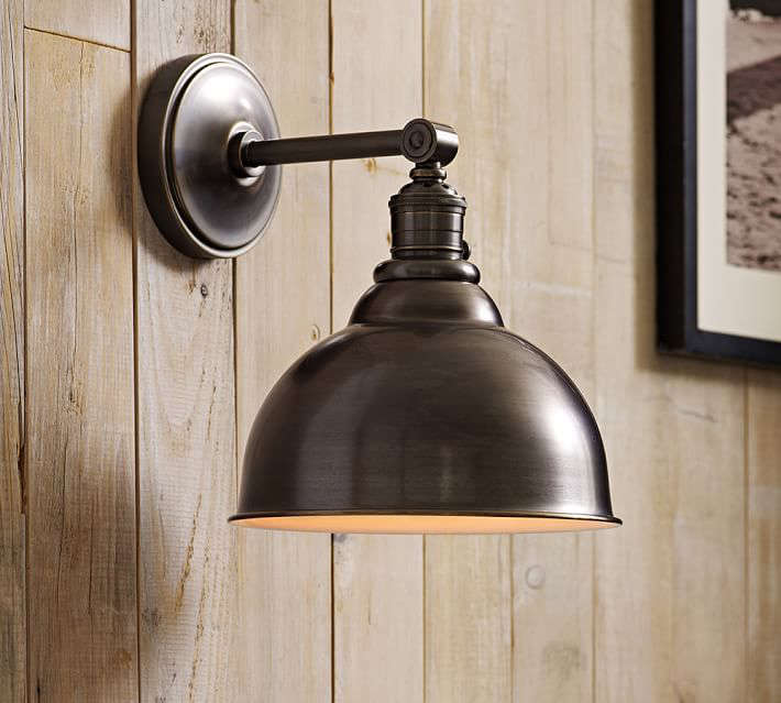 Wall Mounted Lamps Pottery Barn : 10 Easy Pieces: Barnhouse-Style Outdoor Lighting - Gardenista