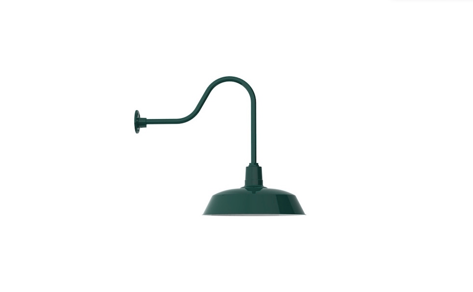Made In America, A Rodeo Warehouse Gooseneck Lightu201cis An Ideal Fixture For  Any