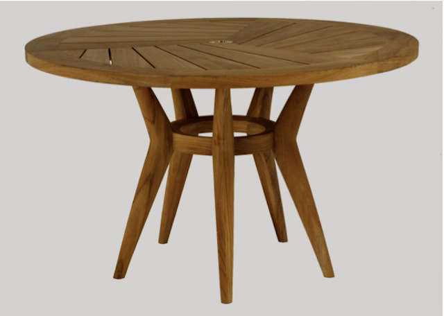Simple Side Table Ideas: 10 Easy Pieces: Round Wooden Dining Tables