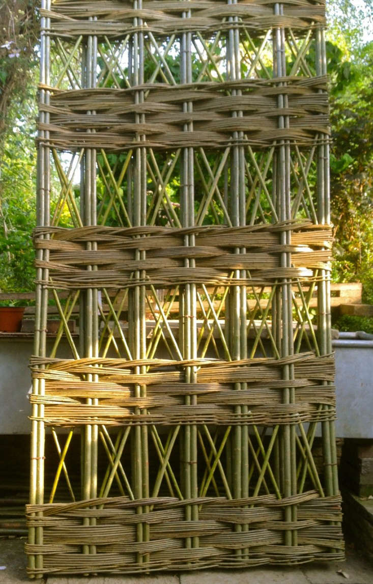 Woven Garden Trellis Panel Gardenista