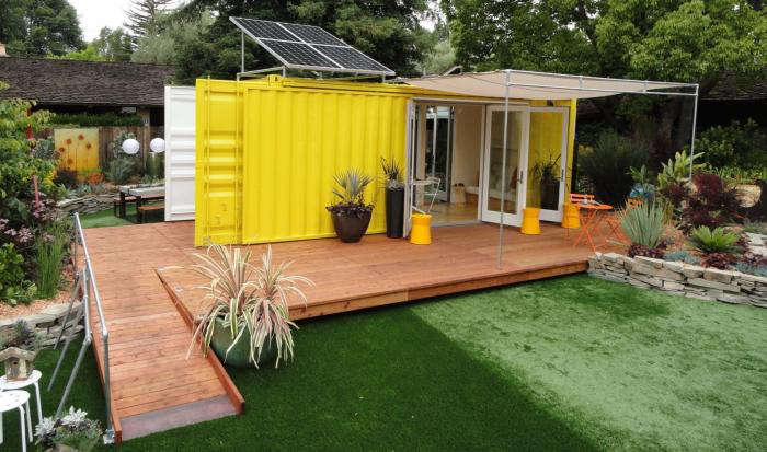Sunset Ideas House Shipping Container 2011