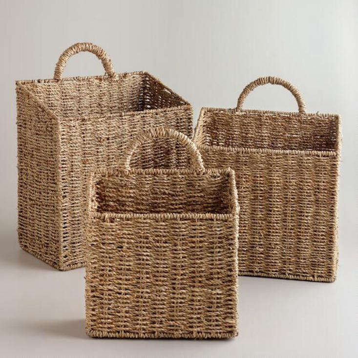 The Well Appointed Potting Shed 5 Woven Baskets For Tool