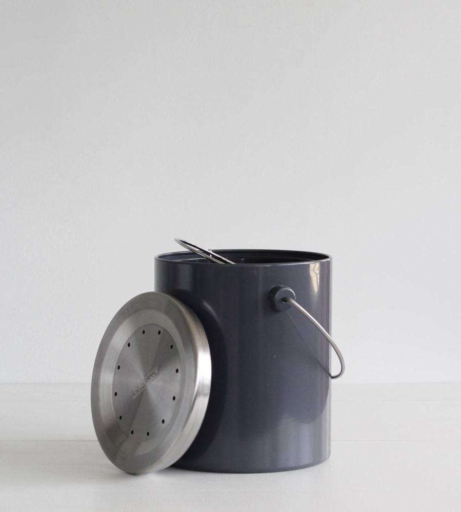father rabbit also offers the hudson compost caddy in gray 89 nz
