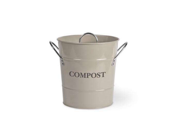 garden trading also sells a steel compost bucket with handles available in three