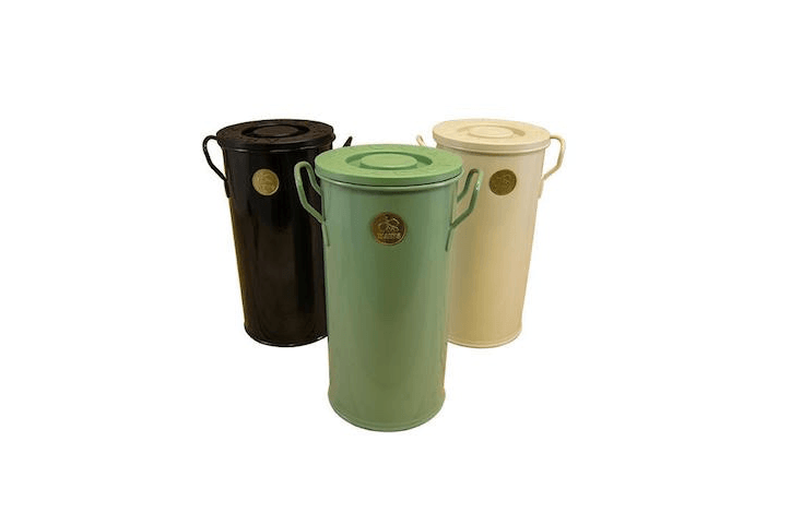 A 12 Inch High Kitchen Compost Caddy By Haws Comes In Three Colors And