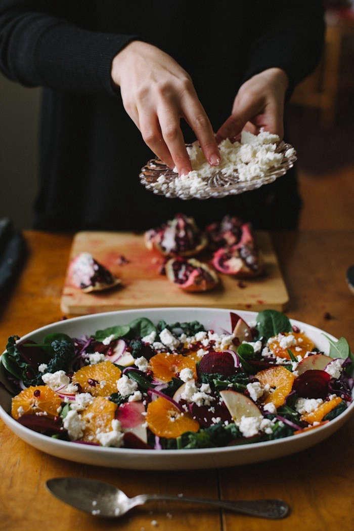 Recipe Winter Kale Salad Gardenista