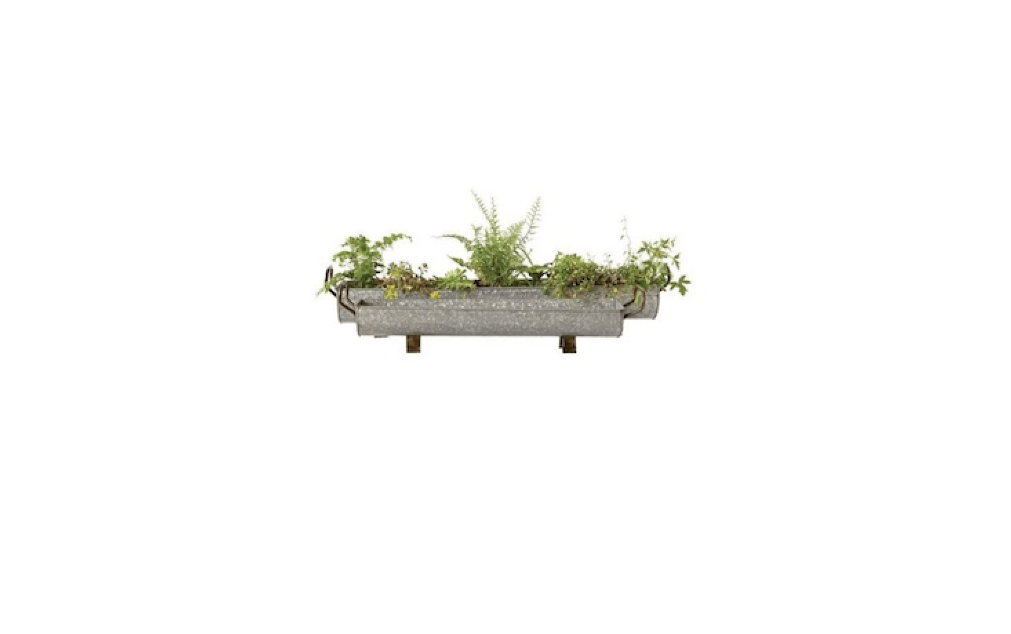 Super 10 Easy Pieces Galvanized Trough Planters Gardenista Short Links Chair Design For Home Short Linksinfo