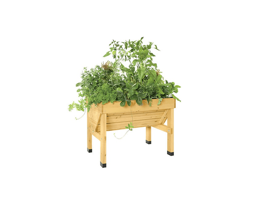 Electaed Garden Bed Wooden Planter At Gardenersu0027 Supply