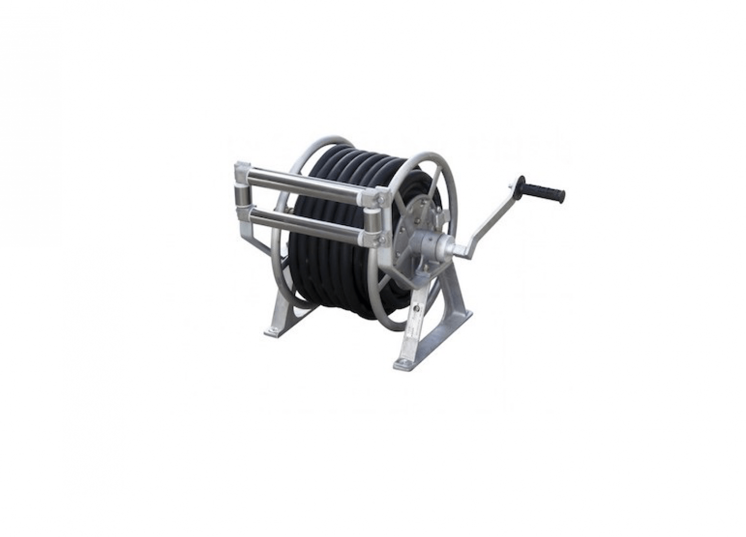 A Manual Rewind Hose Reel Can Be Customized To Fit Several Diameters And  Lengths Of Garden