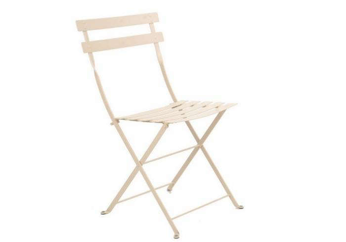700_fermob Folding Metal Bisro Dining Chair White