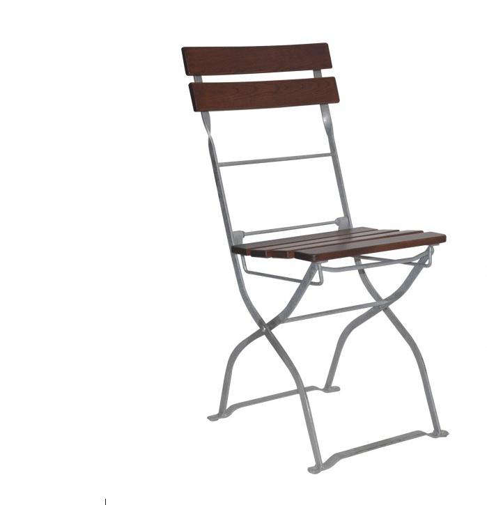Elefant Wood And Metal Folding Chair