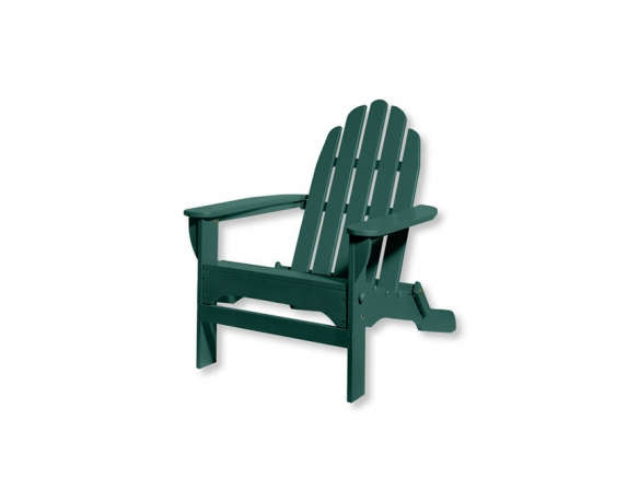 LL Bean Folding Wooden Adirondack Chair. Outdoor ...