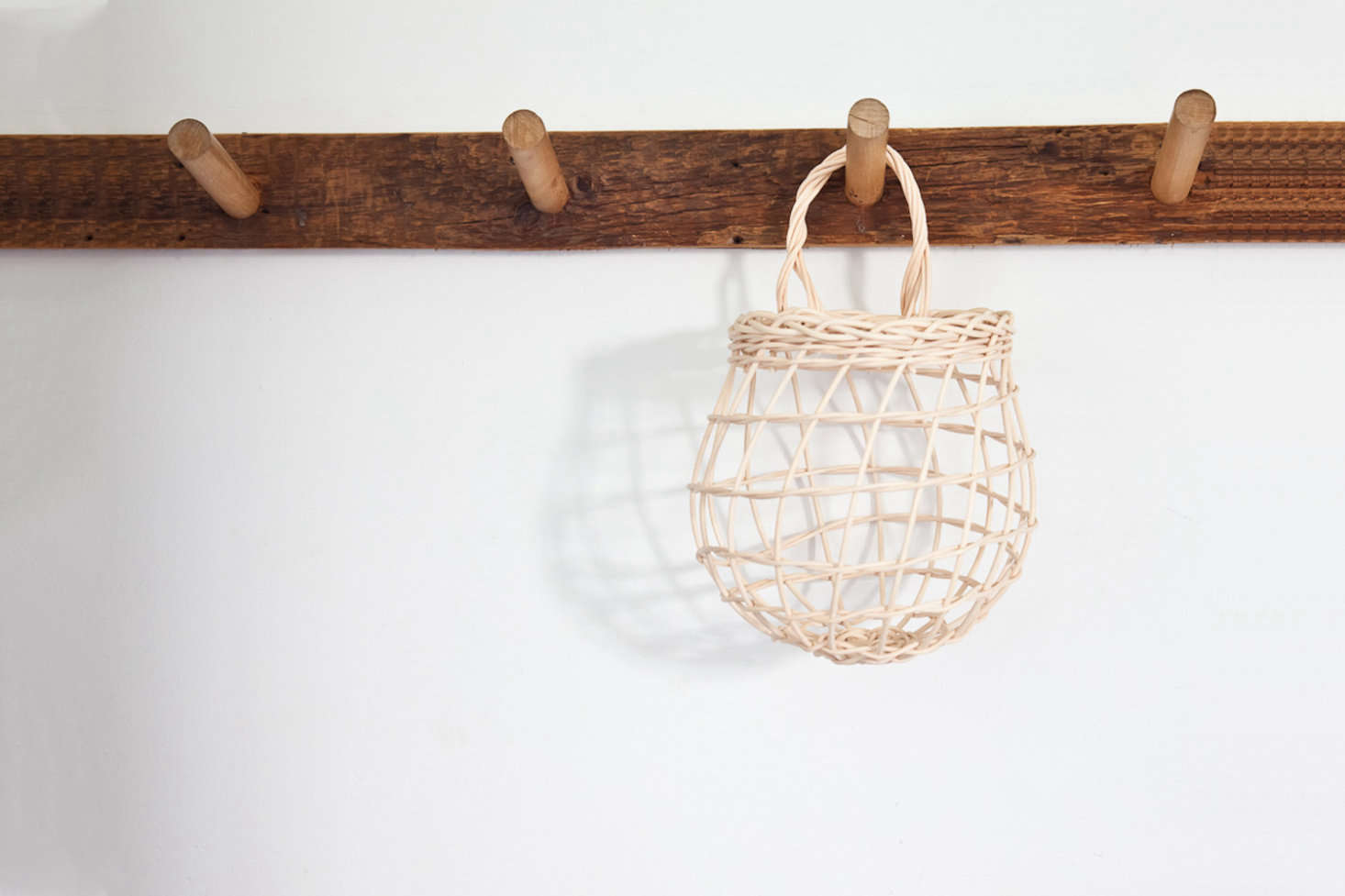 Handmade in Maine, the small Onion Basket is $32 from Sugar Tools.