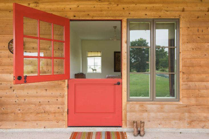 Guest Bedrooms At A West Texas Ranch With A Worldly View Are Outfitted With Dutch  Doors