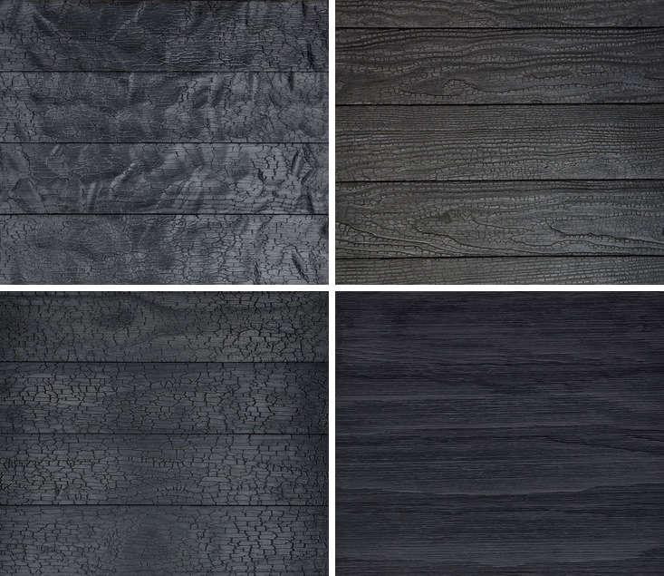hardscaping 101 shou sugi ban charred wood siding gardenista. Black Bedroom Furniture Sets. Home Design Ideas