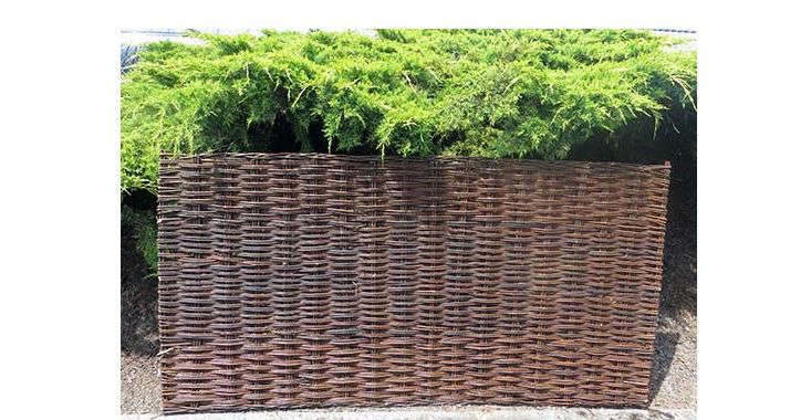 A 6 Foot High Willow Woven Hurdle Fence Panel Is Available In Five Widths  At Prices From $34.18 To $84.62 Depending On Size From Master Garden  Products.