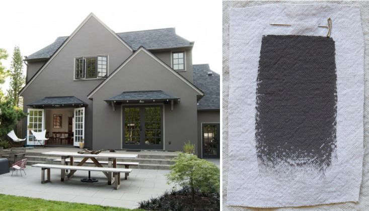 best gray paint colors exterior benjamin moore bear creek - Exterior House Colors Grey