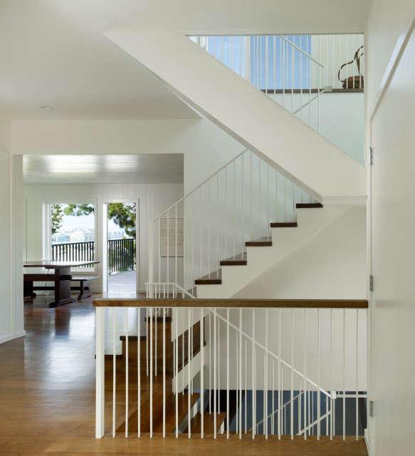 :新的楼梯和现代建筑的历史上有很多细节。马克:阿雷什·史塔克
