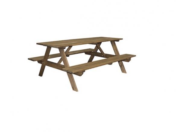 Astonishing Backyard Discovery 1704817 Cedar Picnic Table Creativecarmelina Interior Chair Design Creativecarmelinacom