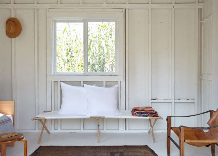 It's hard to feel at ease when there's a mosquito buzzing around. Keep the pests away with a DIY Natural Insect Repellent using essential oils. Photograph by Kate Sears, from A Chic Fixer-Upper on Fire Island, Budget Edition.