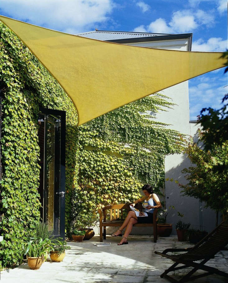10 Easy Pieces Shade Sails Gardenista