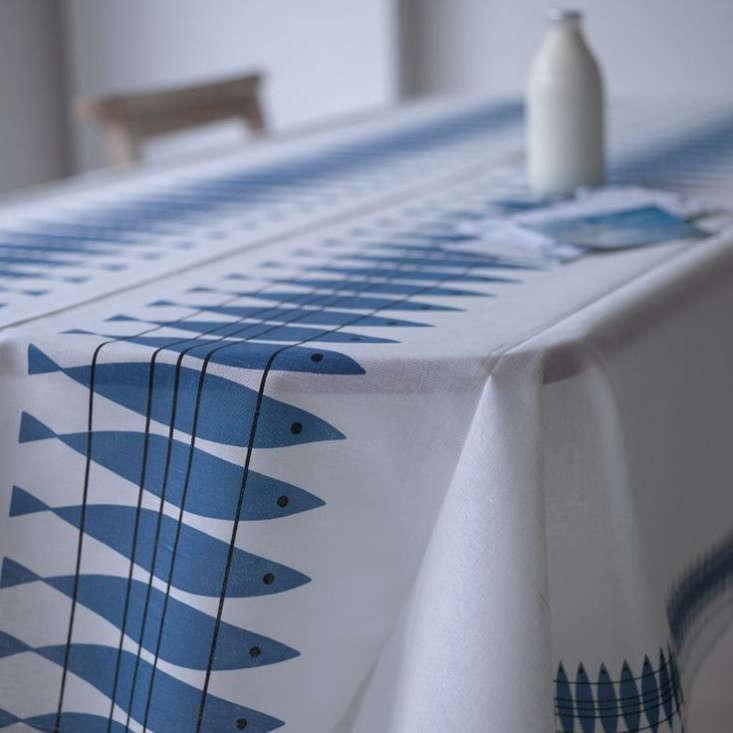 modern oilcloth tablecloth - 733×733