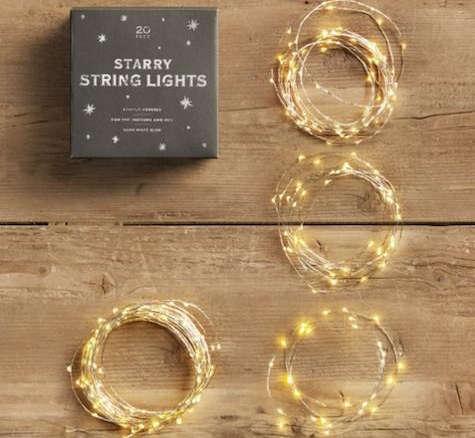 A Beautiful Mess Effortless String Lights Gardenista