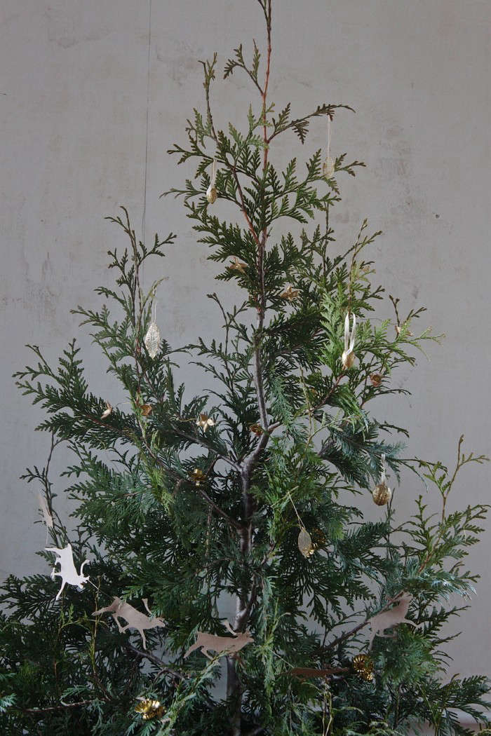 Christmas Decorations From Nature Part - 44: Gilded Tree, Inspired By Nature
