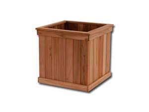 Teak Tree Planter Box 28 In Cube