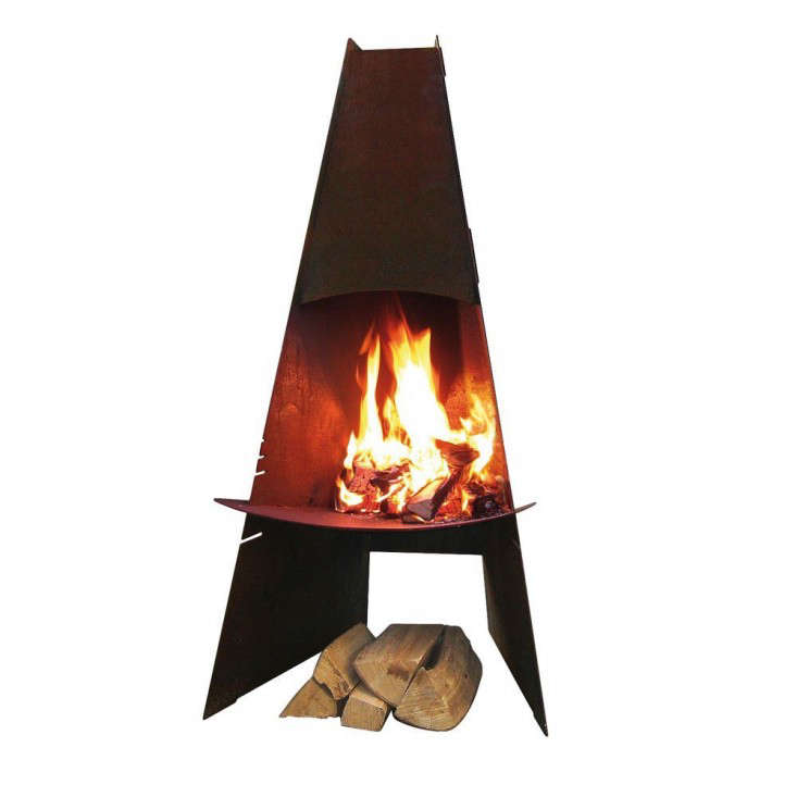 Fireplace Design cone fireplace : 10 Easy Pieces: Chimineas - Gardenista