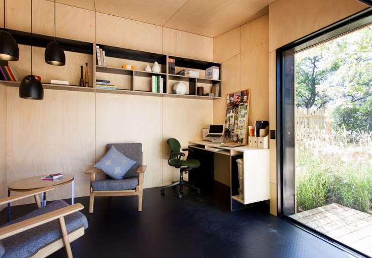 Outbuilding of the Week An Instant Backyard Room for Work and Play
