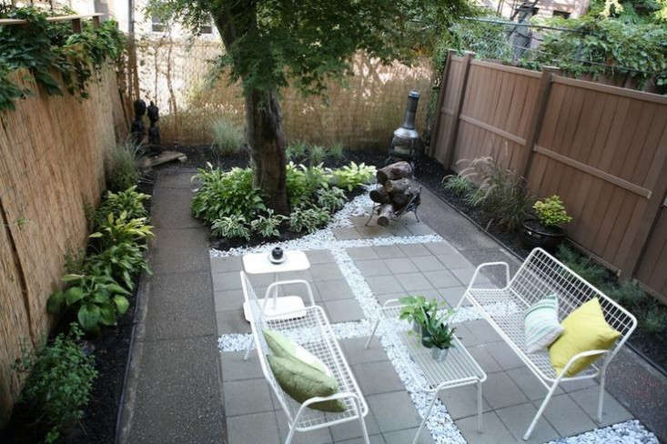Garden Ideas Before And After before and after: a modern brooklyn backyard on a budget - gardenista