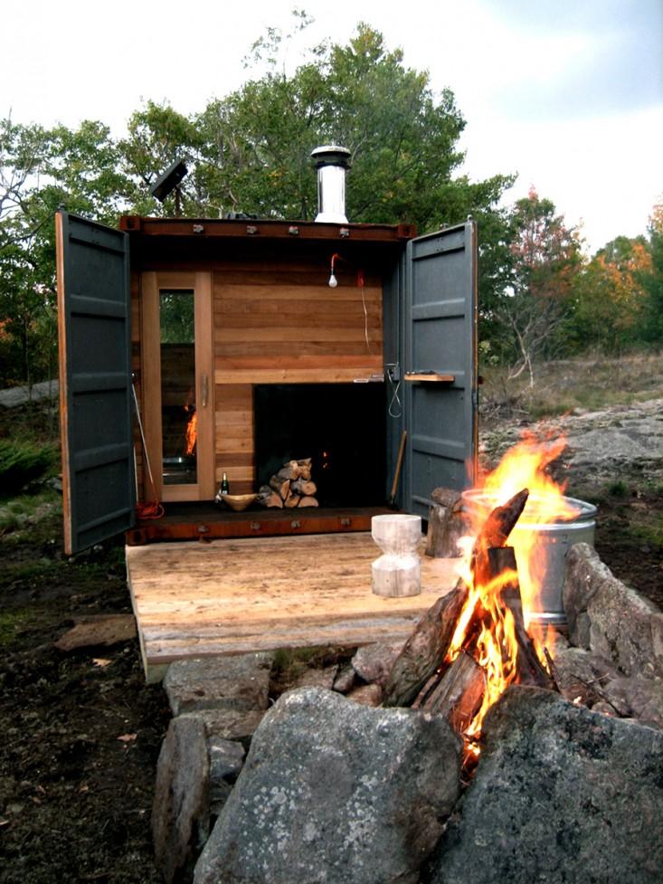 Sauna Details In 2019: Outbuilding Of The Week: Sauna Box By Castor Design Studio