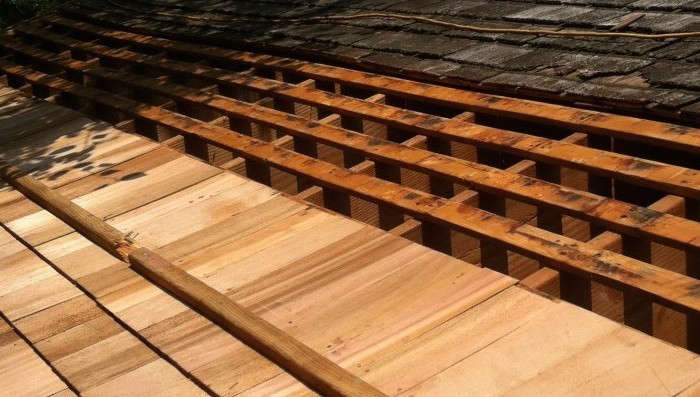 Hardscaping 101: Wood Shake and Shingle Roofs - Gardenista