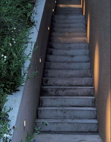 Hardscaping 101 Stairway Lighting Gardenista
