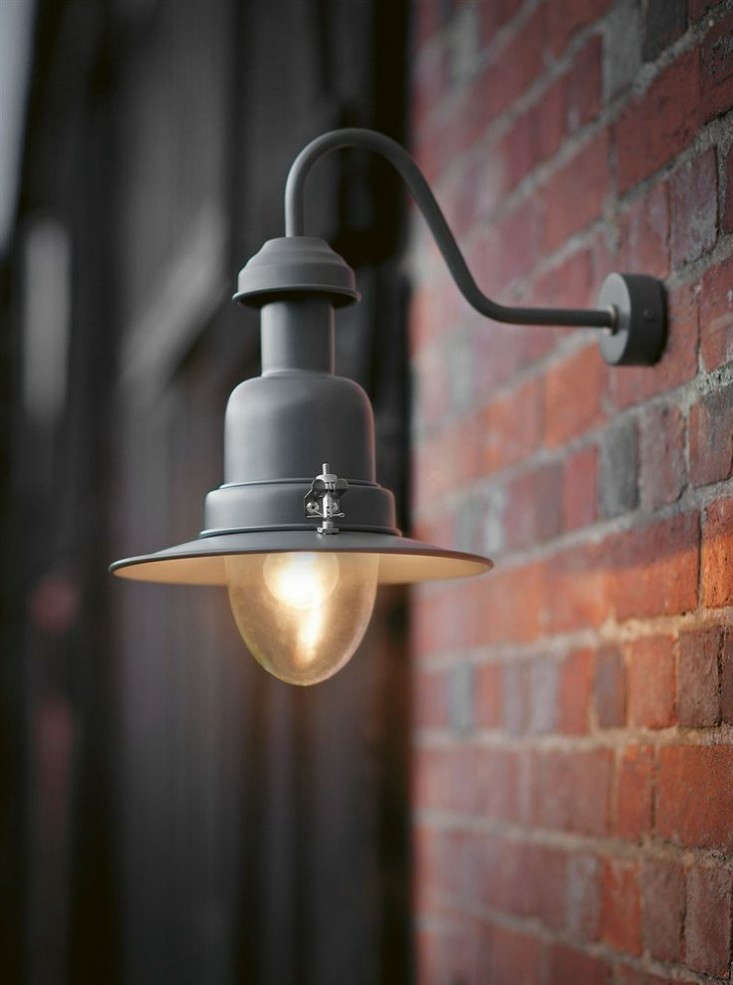 Garden Trading Outdoor Wall Lights : 10 Easy Pieces: Black Wharf Lights - Gardenista