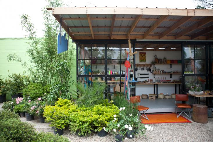 Hijo in Austin: A Garden Shop in a Shed at Jardineros Nursery ...