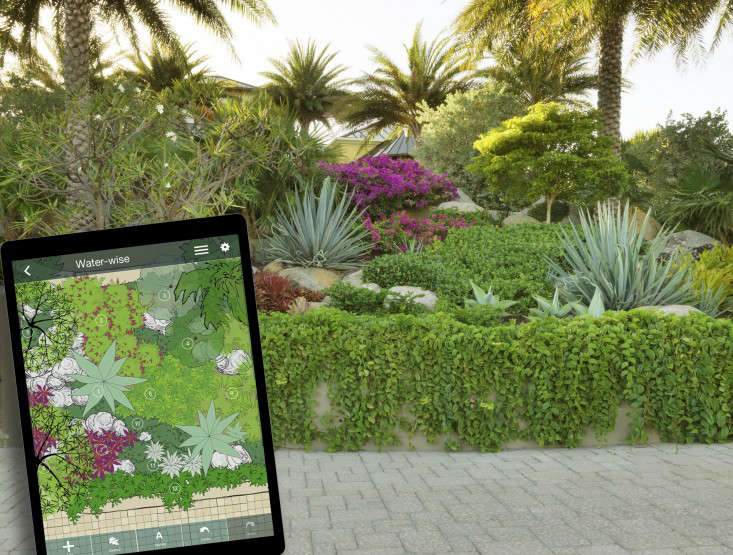 Backyard Design App free landscape design tool backyard landscape design app A Drought Tolerant Garden Designed Using The Appand The Landscape Service Provided By Julie Moir Messervy Design Studio