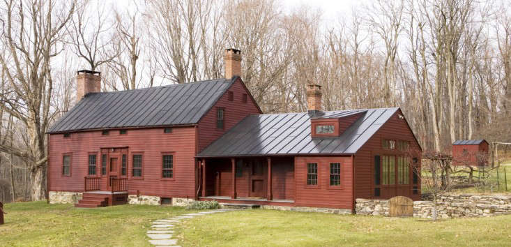 Above The Landscape Surrounding This Old Dutch Colonial Farmhouse Also Remodeled By James Dixon Will Shift Dramatically Through Year As Deciduous