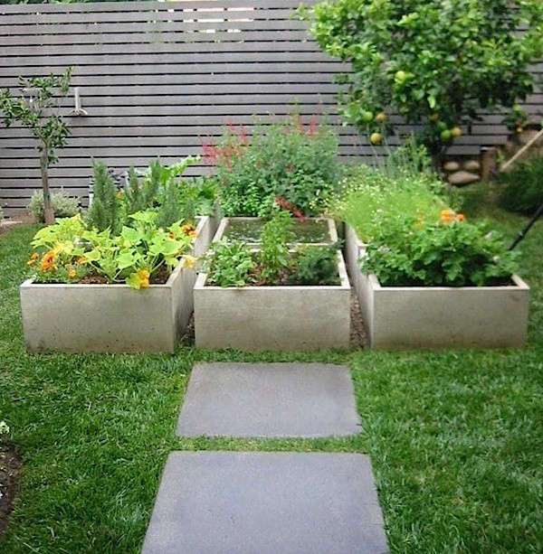 raised garden beds design. A Concrete Plan Landscape Design  10 Gardens Transformed by Raised Beds Gardenista