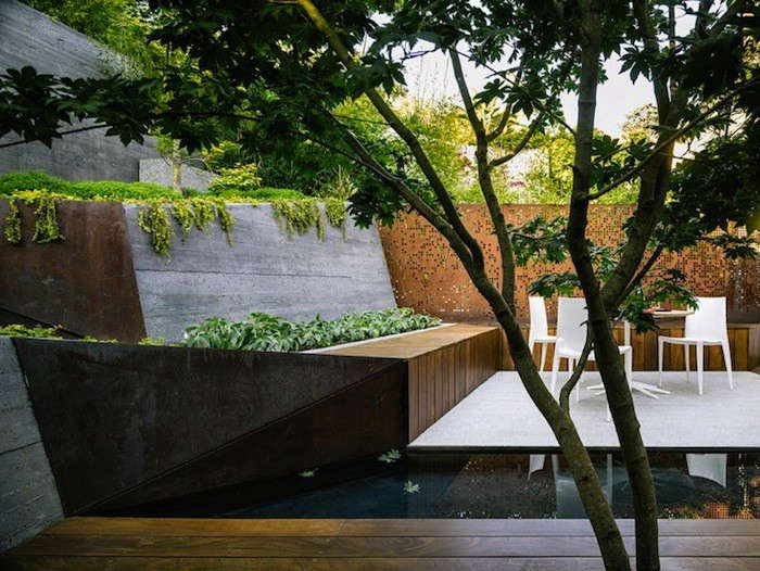 Landscaping Ideas 8 Surprising Ways To Use Cor Ten Steel