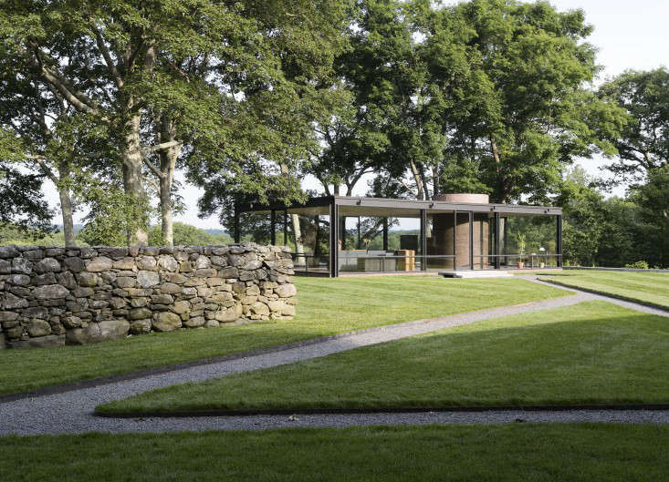Glass House Landscape A Permanent Camping Trip For Architect