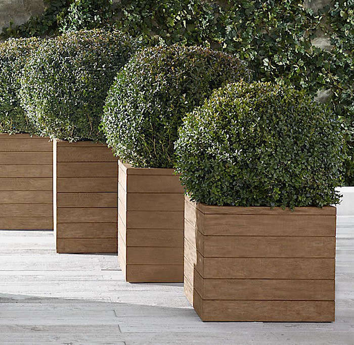 garden ls wood square x box recycled grapevine products paramountathome planter mo grande dpi urban
