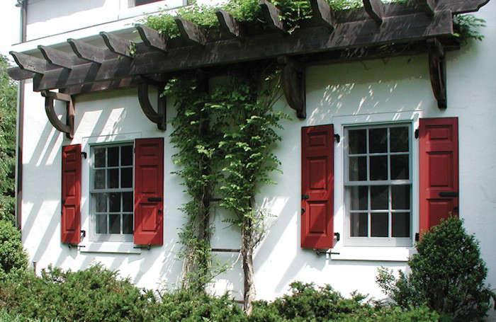 Hardscaping 101: Exterior Wooden Shutters - Gardenista