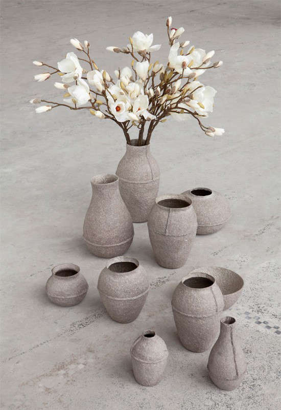 Yesterdays News Vases Made From Recycled Papers Gardenista