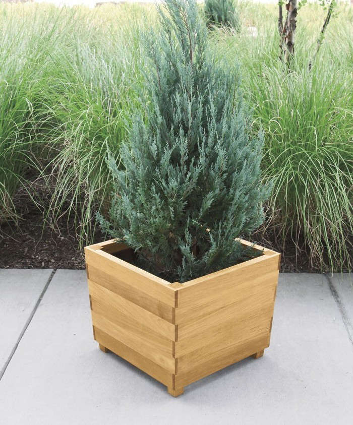 decorative planter flatback homes outdoor large dma wooden garden planters