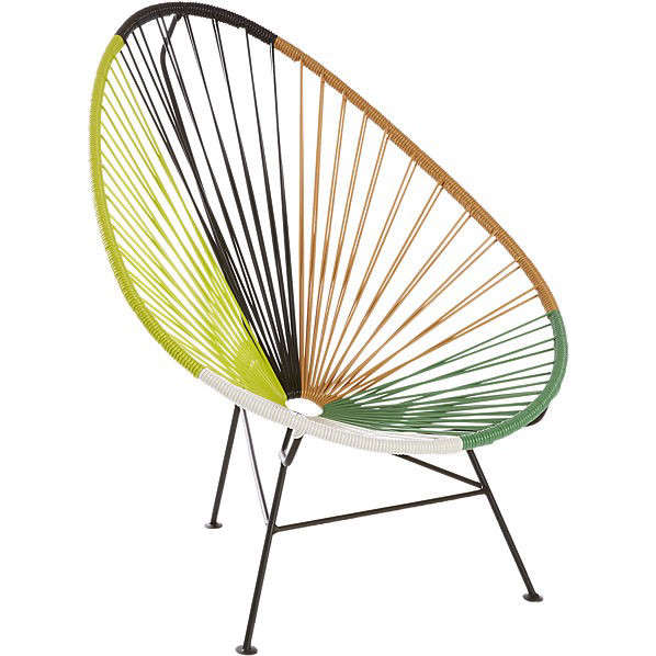 10 easy pieces the acapulco chair gardenista. Black Bedroom Furniture Sets. Home Design Ideas