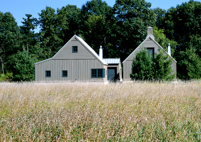 Minneapolis Based Albertsson Hansen Architecture Condensed A Compound Of Old Storage Barns Located On 250 Acres In Rural Minnesota The Simple Landscape